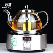 get ations a if the glass teapot set tea run health pot electric ceramic stove to ceramic bone china and heat resistant glass teapot with stove