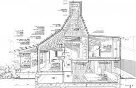modern architectural drawings. Construction Drawings Blueprints. Building Architecture Modern Architectural