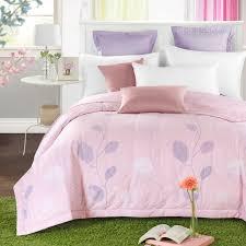 fresh light pink floral summer quilt 150*200cm 200*230cm size ... & fresh light pink floral summer quilt 150*200cm 200*230cm size quilted Quilt  thin Adamdwight.com