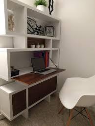 Wall Unit With Desk Darren Tonn Walnut Secretary Desk Wall Unit