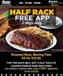 ridiculous food ads logan s roadhouse