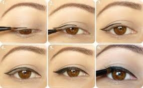 simply natural bride eye makeup tips apply perfect easy cat eyeliner tutorial 1919390 weddbook