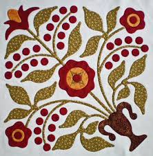 How to Applique: Invisible Machine Applique Instructions and ... & Lily Rosenberry quilt block Adamdwight.com