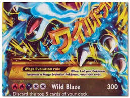 mega pokemon cards to print