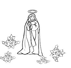 Disegno Della Madonna Maria Da Colorare E Scaricare Oggi Mamma News