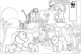 Kids enjoy animal coloring pages with beautiful birds, cats, dogs, and horses. Playmobil Coloring Pages Zoo Animals Xcolorings Com