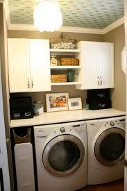 Closet Works Ideas For Small Laundry Room Organization Combine Tips  Molotilo How Organize Washing Machine ...