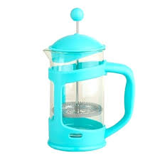 12 oz french press aqua blue 3 cup compact coffee maker by world market how much