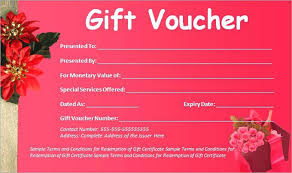 Gift Certificate Template Certificates Office Download Voucher Free