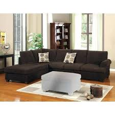 corduroy sectional sofa canada luxurious and plush 2 piece chocolate corduroy couch sofa