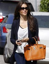 hermes birkin 25 celebrity. hermes 30cm orange birkin with phw on sophia vagara 25 celebrity