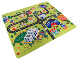 Baby Play Mat for Kids Microfiber Foam Mat With Non Slip Back and
