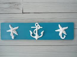 Outdoor Coat Rack For Hot Tub Starfish Anchor Beach Towel Rack Seahorse Mermaid Bathroom Towels 26