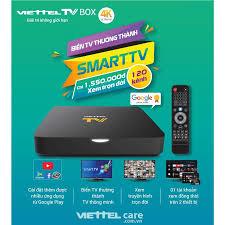 Thiết bị Viettel TV Box 4K Biến Tivi Thường Thành Smart TV Thông Minh