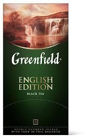 <b>Чай черный Greenfield English</b> Edition в пакетиках — купить по ...