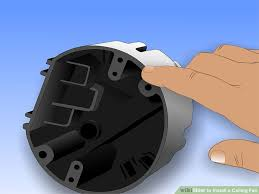 ceiling fan brace box installation luxury how to safely install a ceiling fan wikihow