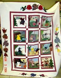 20 best Calendar Quilts images on Pinterest | Projects, DIY and ... & Sunbonnet Sue Calendar Quilt Adamdwight.com