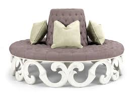 Round Outdoor Bed Diy Simple Round Outdoor Cushion Porch And Landscape Ideas