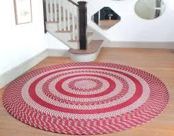 circle braided rug the large round braided rugs round braided rugs target