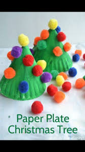 Christmas Kids Crafts 25 Best Christmas Paper Plates Ideas On Pinterest Christmas