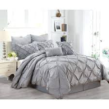 grey pintuck comforter trendy light grey comforter bedding set amazing best bedroom dark gray pintuck comforter