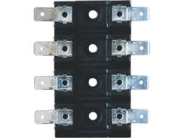 fuses battery accessories princess auto 4 pole 50a agc fuse block