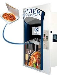 Tombstone Pizza Vending Machine Mesmerizing Xavier University Gets North America's First Pizza Vending Machine