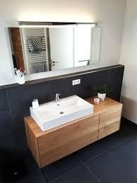 Waschtischunterschrank Aus Holz Modern Massiv Eiche Waschtisch