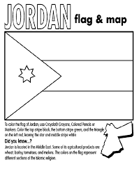 Small Picture Jordan flag coloring sheet complete with Country facts Great for