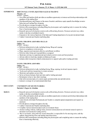Sample Traders Resume Sales Trading Resume Samples Velvet Jobs 12