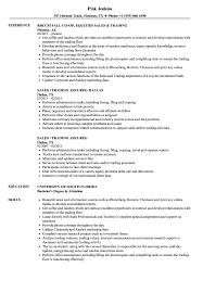 s trading resume sample as image file