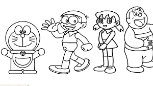 12 best doraemon images colouring pages for kids coloring pages. How To Draw Doraemon Nobita Shizuka Gian Suneo And Dorami Learn Drawing Kid Music Youtube