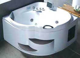 corner jacuzzi whirlpool bathtub bathroom elegant design bathtubs and bench with bath lights corner jacuzzi 2 person bathtub two rounded whirlpool