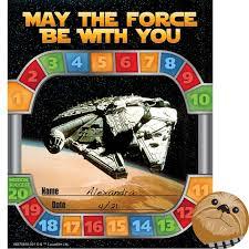 Star Wars Behavior Chart Star Wars Mini Reward Chart Plus Stickers