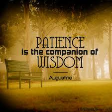 Christian Patience Quotes Best of Augustine Quote Patience ChristianQuotes