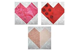 Patchwork Hearts Quilt Block Pattern &  Adamdwight.com