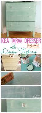 ikea hack tarva dresser diy. Ikea Hack Tarva Dresser With Faux Painted Linen Texture - Transform A Cheap And . Diy