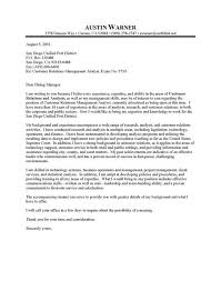 example of a professional cover letters professional resume cover letter sample city manager cover letter