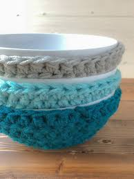 Bowl Cozy Pattern Custom Quick Easy Bowl Cozies Winding Road Crochet
