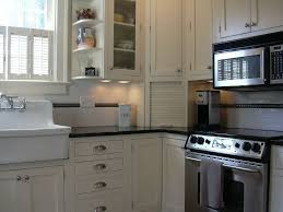 Farmhouse Kitchen Hardware Country Kitchen With Nickel Cabinet Hardware Farmhouse Sink In