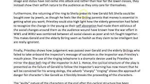 an essay on the role of gerald in an inspector calls thanks  an essay on the role of gerald in an inspector calls thanks mustafa