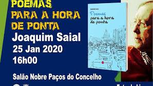 """Vila Viçosa: Apresentação do Livro """"Poemas para a Hora de Ponta"""" da autoria de Joaquim Saial"""