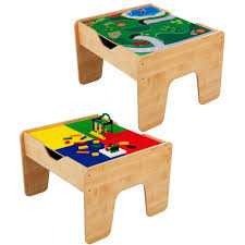 Kids Desk With Storage Lego Table Kids Train Top Play Art Craft Activity Desk With