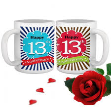 13th marriage anniversary gift