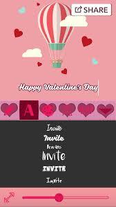 Valentines Day Invitations Fascinating Valentine's Day Greeting Cards Love Card Maker By Milojkovic Marija