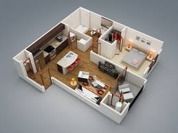 Small One Bedroom Apartment Floor Plans 17 Best Ideas About One Bedroom Apartments On Pinterest One
