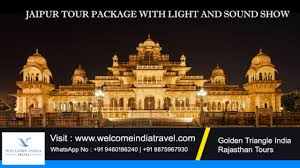 City Palace Light Show In Jaipur Light And Sound Show Amer Fort Jaipur City Palace Jaipur Light And Sound Show