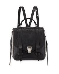proenza schouler ps1 zip paper leather backpack