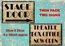 image is loading vine style theatre se door signs theatre signs
