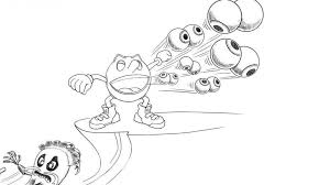 Small Picture Pac Man And Ghostly Adventures Coloring Pages Sketch Coloring Page